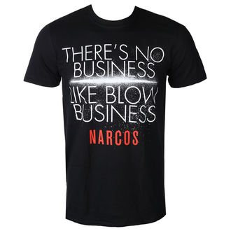 film t-shirt men's Narcos - NO BUSINESS LIKE - PLASTIC HEAD