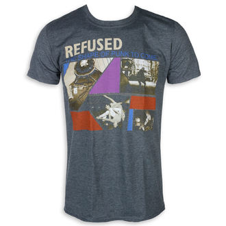 Metal T-Shirt men's Refused - The Shape Of Punk - KINGS ROAD