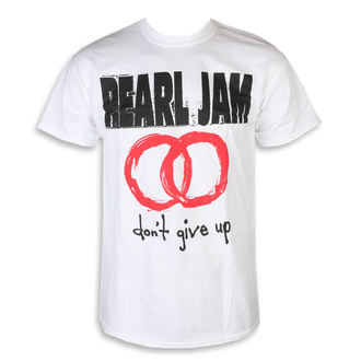 t-shirt metal men's Pearl Jam - Don't Give Up White - NNM