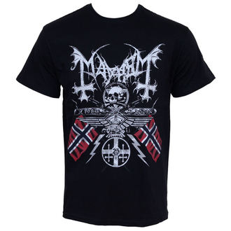 Metal T-Shirt men's Mayhem - 25 Years Coat of Arms - RAZAMATAZ