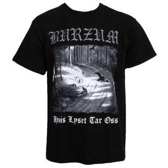 Metal T-Shirt men's Burzum - Hvis Lyset Tar Oss - PLASTIC HEAD