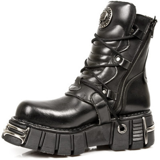 leather boots unisex - NEW ROCK