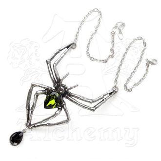necklace Emerald Venom - ALCHEMY GOTHIC