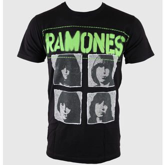 Metal T-Shirt men's Ramones - Hey Ho 30/1 - BRAVADO