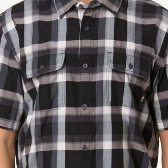 shirt men VANS - Averill - Black / White