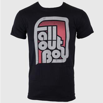 Metal T-Shirt men's Fall Out Boy - Retro Black - LIVE NATION