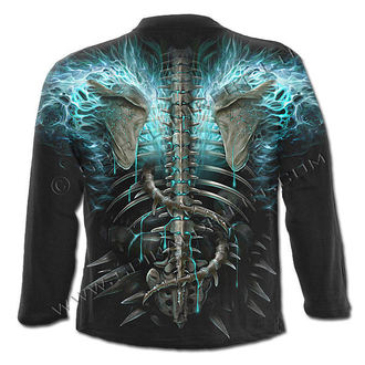 T-Shirt men's - Flaming Spine - SPIRAL
