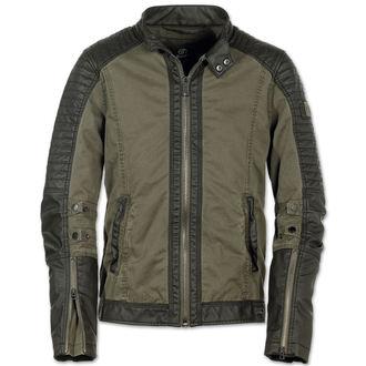 jacket men spring/autumn BRANDIT - Road King Vintage Black / Olive