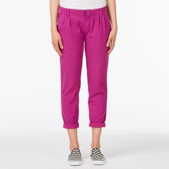 pants women VANS - G Pleated Chino - Boysenberry
