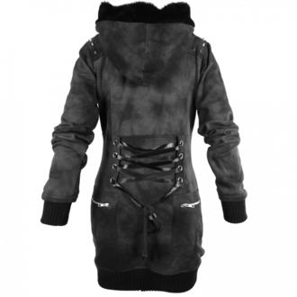 jacket/sweatshirt women's POIZEN INDUSTRIES - Shaz - Grey