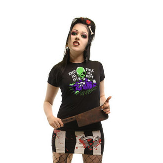 t-shirt women's - Kreep n Stalk - KREEPSVILLE SIX SIX SIX