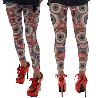pants women (leggings) KREEPSVILLE SIX SIX SIX - Eyesore