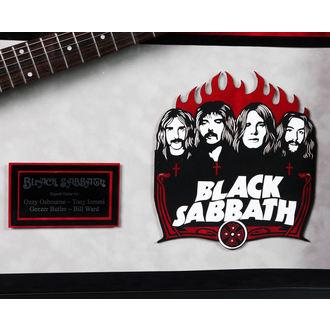 signed guitar BLACK SABBATH