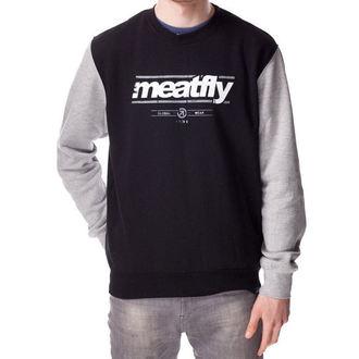 sweatshirt (no hood) men's - CORPORATE PULLER A - MEATFLY