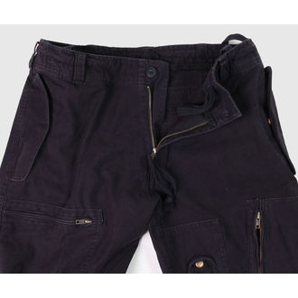 pants men MIL-TEC - Fliegerhose - Prewash Black