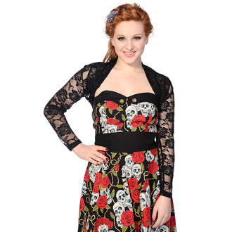 svetr women's - Black Lace Rose - BANNED