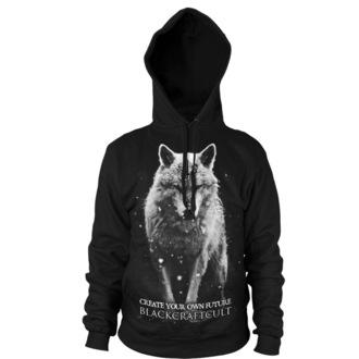 hoodie men's - Lone Wolf - BLACK CRAFT