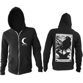 hoodie men's - Nevermore - BLACK CRAFT