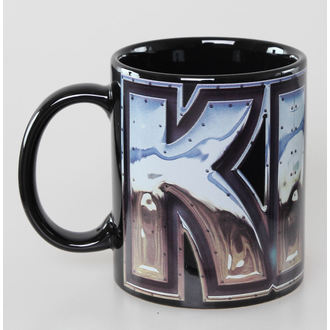 cup Kiss - Chrome Logo - Black ROCK OFF