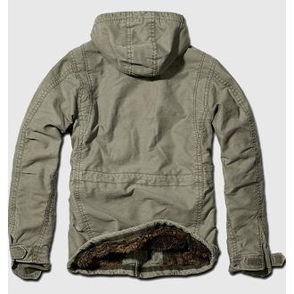 jacket men winter BRANDIT - Vintage Diamond - Olive
