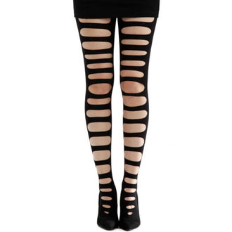 tights PAMELA MANN - Front Slash Tights - Black