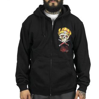 hoodie men's - Damon Badge - SULLEN