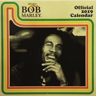 Calendar for year 2019 BOB MARLEY