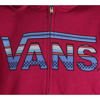 hoodie men's - CLASSIC ZIP - VANS