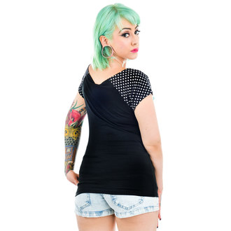 t-shirt gothic and punk women's - Bolivar - TOO FAST