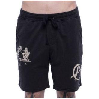 shorts men IRON FIST - Libbertarian Lounge - Black