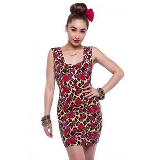 dress women IRON FIST - Leopard Garden - Leopard