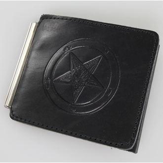 wallet Baphomet - Black