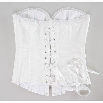 corset women's DRACULA CLOTHING - White