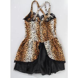 dress women BLACK PISTOL - Punk - Leopard