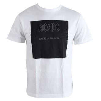 Metal T-Shirt men's AC-DC - Back In Black - AMPLIFIED