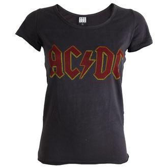 Metal T-Shirt women's AC-DC - Charcoal - AMPLIFIED