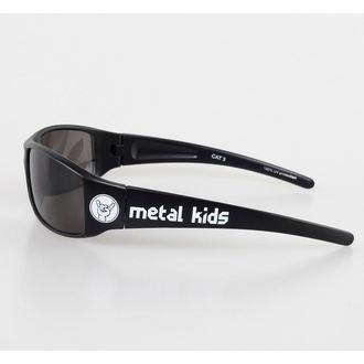 glasses sun Metal-Kids - Metal Kid - Glossy Black