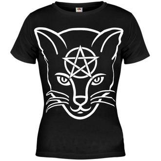 t-shirt hardcore women's - Head Cat - AMENOMEN