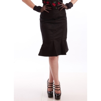 skirt women's NECESSARY EVIL - Damara Retro Tulip - Black