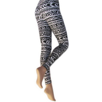 pants women (leggings) LEGWEAR - Aztec