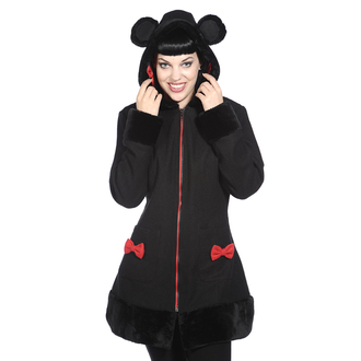 coat women's BANNED - Black