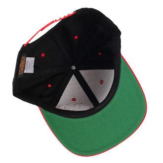 cap BLACK HEART - Stamp - Black / Red