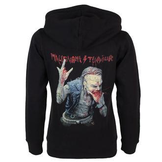 hoodie women's Malignant Tumour - The Metallist - NNM