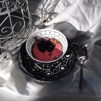 Tea cup with saucer (set) KILLSTAR - Cosmic
