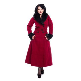 Women's coat Rockabella - BIANCA - RED