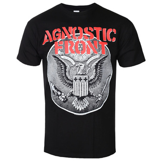 Metal T-Shirt men's Agnostic Front - ALL EAGLE - PLASTIC HEAD