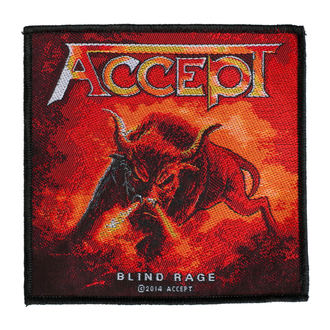 patch ACCEPT - BLIND RAGE - RAZAMATAZ