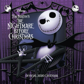 Calendar for the year 2020 - Nightmare Before Christmas