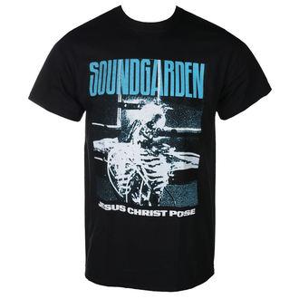 t-shirt metal men's Soundgarden - JESUS CHRIST POSE - PLASTIC HEAD