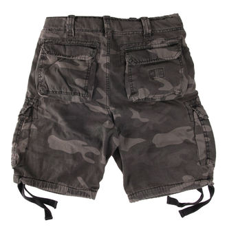 shorts men SURPLUS - Airborne vintage - Black Come - DAMAGED, SURPLUS